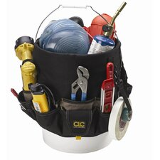 CLC 48-Pocket Bucket Tool Bag