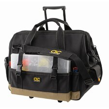 "CLC Tool Bag - 42 pocket – 18"" slideglide roller bag"