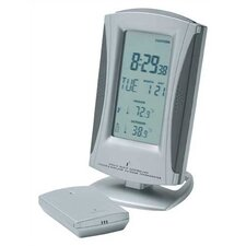 True Time and Temp Wireless Weather Clock