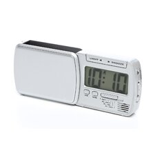 "<strong>Chass</strong> ""Smart Lite"" Swing Out Travel Alarm Clock"