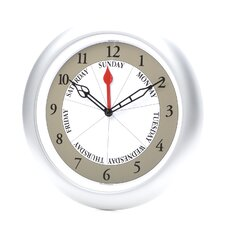 "13.25"" Day Wall Clock"