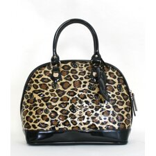 Leopard Embossed Tote Bag