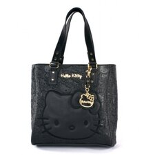 Embossed Face Tote