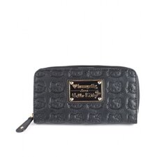 Embossed Zip Around Wallet