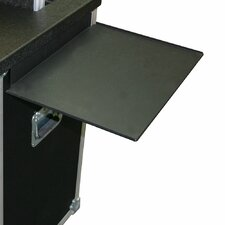 RotoLift Hanging Equipment Shelf in Black