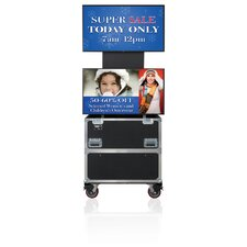 "Rotolift Dual Lift Case for Two 46"" - 52"" Flat Screens"