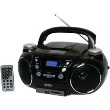 Portable AM/FM Stereo CD Player