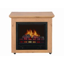 <strong>Comfort Glow</strong> Cambria Electric Mobile Fireplace