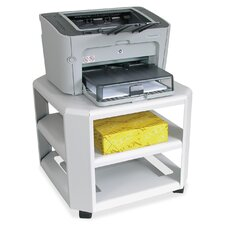 2-Shelf Mobile Printer Stand