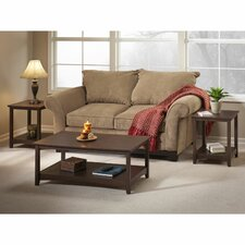 Buena Vista 3 Piece Coffee Table Set