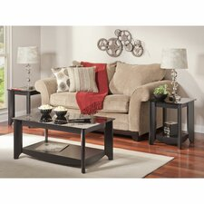 Aero 3 Piece Coffee Table Set