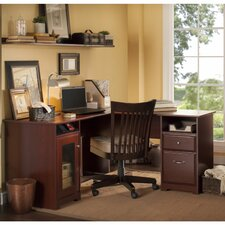 Cabot Computer Desk with File