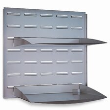 Quantum Series Paper Tray, 15-3/4w x 15-5/8h, Silver