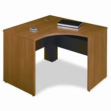 <strong>Bush Industries</strong> Quantum Series Left Corner Desk Shell, 47-3/8w x 42-1/8d x 30h, Modern CY
