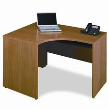 <strong>Bush Industries</strong> Quantum Series Right Corner Desk Shell, 47-3/8w x 42-1/8d x 30h, Modern CY