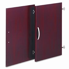 Series C Half-Height Door Kit for Bookcase