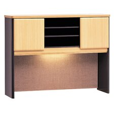 "<strong>Bush Industries</strong> Series A 36.5"" H x 47.5"" W Desk Hutch"