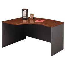 Series C Left L-Bow Desk