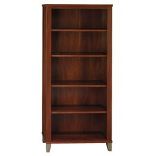 "Somerset 65"" H Five Shelf Bookcase"