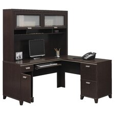 Tuxedo L-Shape Desk Office Suite