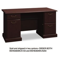 Syndicate Double Pedestal Desk
