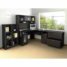Cabot L-Shape Desk Office Suite