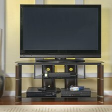"<strong>Bush Industries</strong> Segments 43"" Corner TV Stand"
