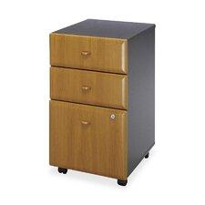 3-Drawer Expandable Pedestal