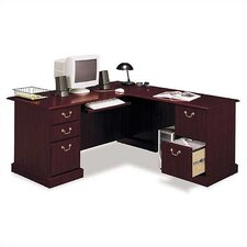 "Saratoga Collection 71"" W L-Shape Desk"