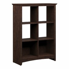 "Buena Vista 47.8"" 6 Cube Storage Bookcase"