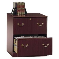 Saratoga 2 Drawer Executive Filing Cabinet