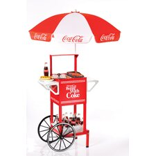 <strong>Nostalgia Electrics</strong> Coca-Cola Series Hot Dog Party Cart