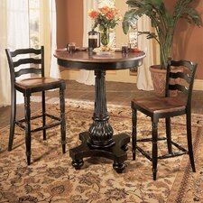 <strong>Hooker Furniture</strong> Indigo Creek 3 Piece Pub Table Set