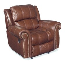 Glider Leather Recliner Chair