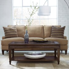 "Ludlow 82"" Leather Sofa"