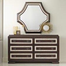 Melange Albion 6 Drawer Dresser