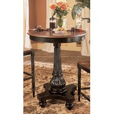 <strong>Hooker Furniture</strong> Indigo Creek Pub Table in Black