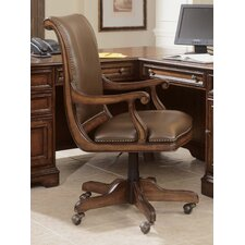 <strong>Hooker Furniture</strong> High-Back Swivel Office Chair with Arms