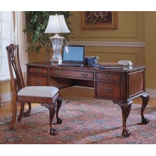 "Bedford Row 60"" W Ball / Claw Writing Desk"