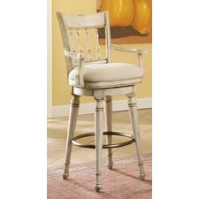 "Summerglen 33"" Swivel Bar Stool with Cushion"