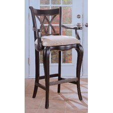 "<strong>Hooker Furniture</strong> Preston Ridge 23.5"" Bar Stool with Cushion"