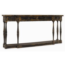 Sanctuary 4 Drawer Console Table