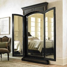 <strong>Hooker Furniture</strong> Grandover Floor Mirror in Brown