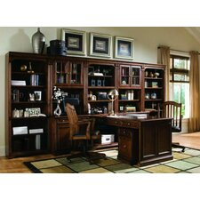 "Brookhaven 78"" H Tall Bookcase in Medium Clear Cherry"