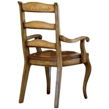 Vineyard Ladderback Arm Chair