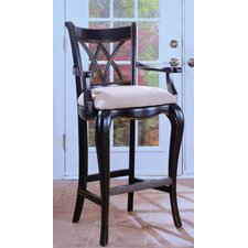 "<strong>Hooker Furniture</strong> Preston Ridge 22.5"" Bar Stool with Cushion"