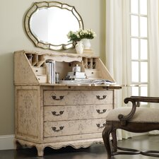 <strong>Hooker Furniture</strong> Handpainted Secretary Desk