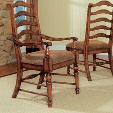 <strong>Hooker Furniture</strong> Waverly Place Ladderback Arm Chair