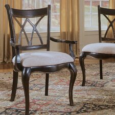 <strong>Hooker Furniture</strong> Preston Ridge Double X-Back Arm Chair