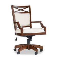 <strong>Hooker Furniture</strong> Lorimer High-Back Tilt Swivel Chair with Arms